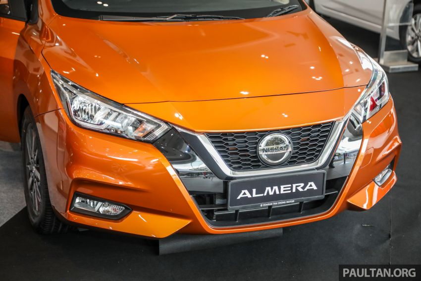 2020 Nissan Almera Turbo in Malaysia – 1.0 litre turbo CVT, AEB on all three variants, from RM8xk to RM9xk Image #1171752