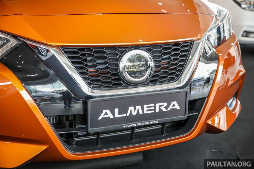 2020 Nissan Almera Turbo in Malaysia – 1.0 litre turbo CVT, AEB on all three variants, from RM8xk to RM9xk Image #1171755