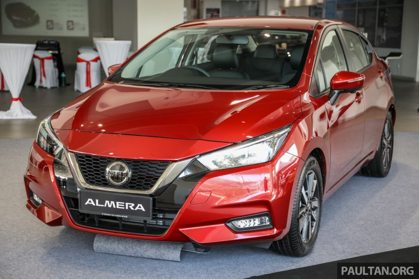 2020 Nissan Almera Turbo in Malaysia – 1.0 litre turbo CVT, AEB on all three variants, from RM8xk to RM9xk Image #1171930