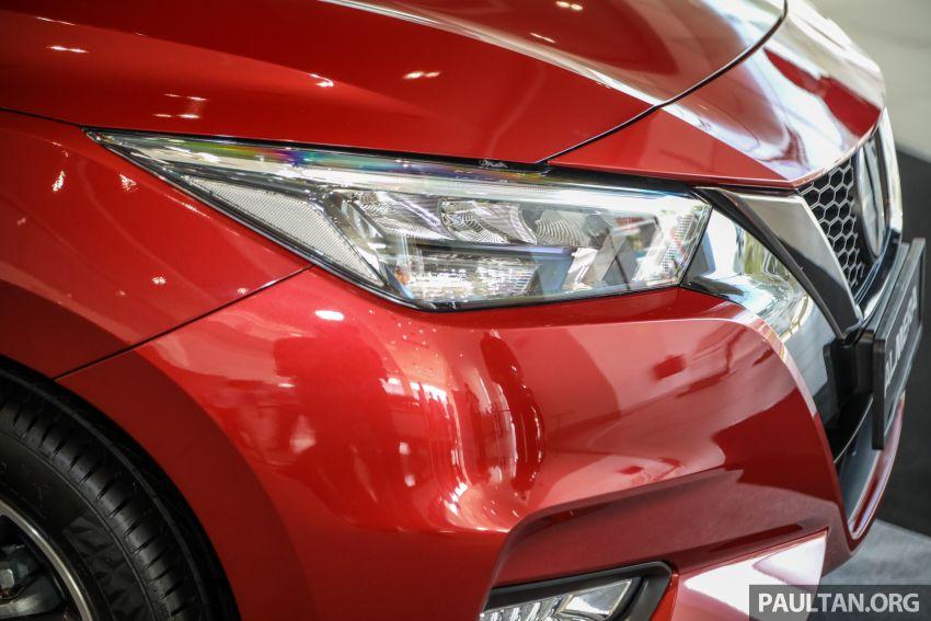 Nissan Almera 2020 di M'sia — perincian lengkap spesifikasi tiga varian, 1.0 liter turbo/CVT, dari RM8Xk Image #1171407
