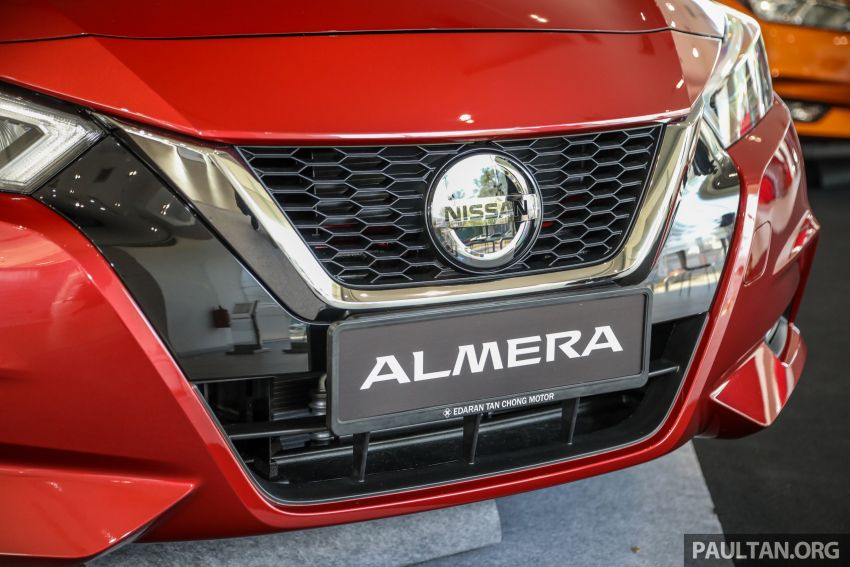 2020 Nissan Almera Turbo in Malaysia – 1.0 litre turbo CVT, AEB on all three variants, from RM8xk to RM9xk Image #1171943