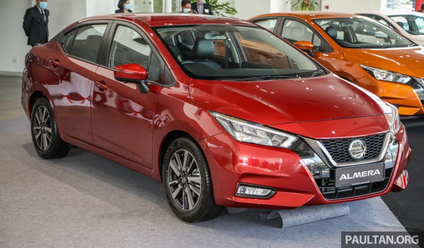2020 Nissan Almera Turbo in Malaysia – 1.0 litre turbo CVT, AEB on all three variants, from RM8xk to RM9xk Image #1171931