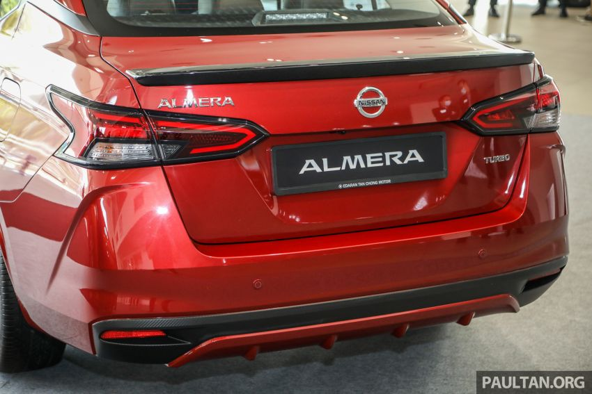 2020 Nissan Almera Turbo in Malaysia – 1.0 litre turbo CVT, AEB on all three variants, from RM8xk to RM9xk Image #1171955