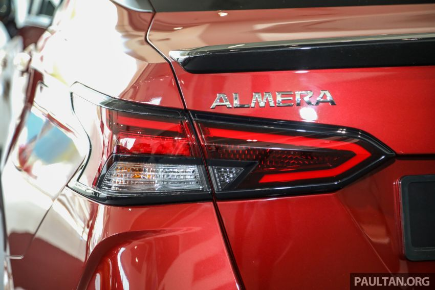Nissan Almera 2020 di M'sia — perincian lengkap spesifikasi tiga varian, 1.0 liter turbo/CVT, dari RM8Xk Image #1171420