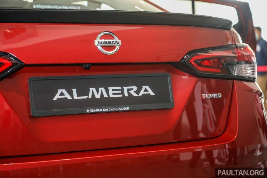 Nissan Almera 2020 di M'sia — perincian lengkap spesifikasi tiga varian, 1.0 liter turbo/CVT, dari RM8Xk Image #1171424