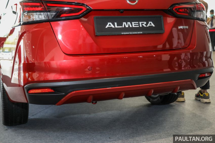 2020 Nissan Almera Turbo in Malaysia – 1.0 litre turbo CVT, AEB on all three variants, from RM8xk to RM9xk Image #1171968