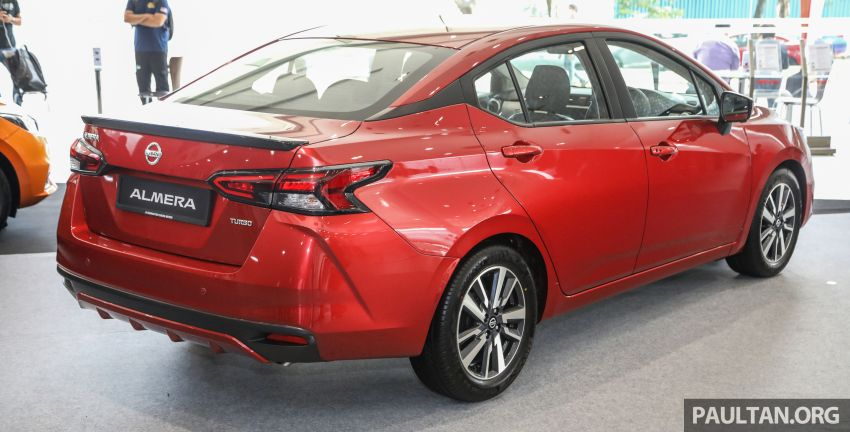 2020 Nissan Almera Turbo in Malaysia – 1.0 litre turbo CVT, AEB on all three variants, from RM8xk to RM9xk Image #1171932