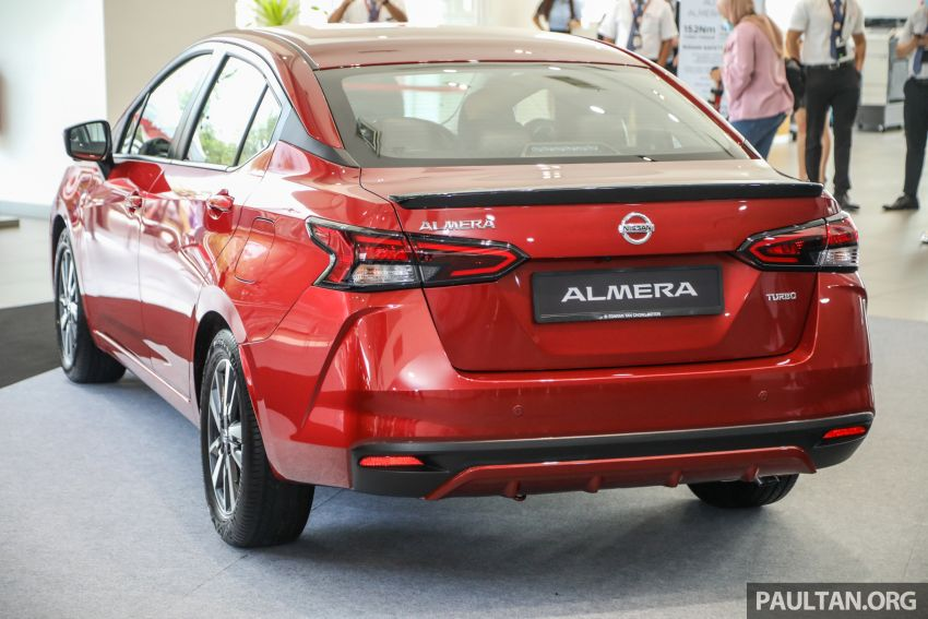 2020 Nissan Almera Turbo in Malaysia – 1.0 litre turbo CVT, AEB on all three variants, from RM8xk to RM9xk Image #1171933
