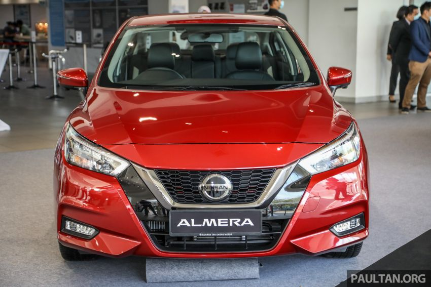 2020 Nissan Almera Turbo in Malaysia – 1.0 litre turbo CVT, AEB on all three variants, from RM8xk to RM9xk Image #1171934