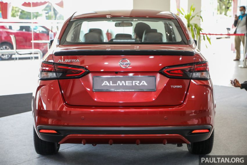 2020 Nissan Almera Turbo in Malaysia – 1.0 litre turbo CVT, AEB on all three variants, from RM8xk to RM9xk Image #1171936