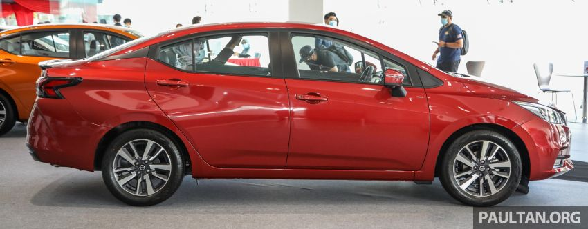2020 Nissan Almera Turbo in Malaysia – 1.0 litre turbo CVT, AEB on all three variants, from RM8xk to RM9xk Image #1171937