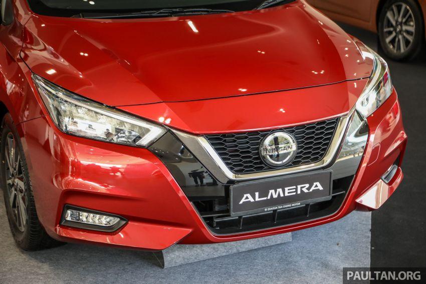Nissan Almera 2020 di M'sia — perincian lengkap spesifikasi tiga varian, 1.0 liter turbo/CVT, dari RM8Xk Image #1171405
