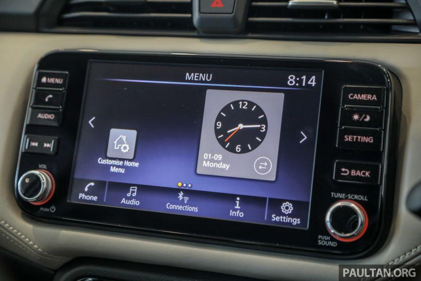 Nissan Almera 2020 di M'sia — perincian lengkap spesifikasi tiga varian, 1.0 liter turbo/CVT, dari RM8Xk Image #1171448