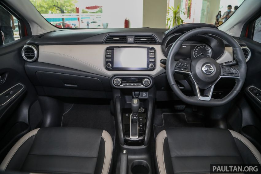 Nissan Almera 2020 di M'sia — perincian lengkap spesifikasi tiga varian, 1.0 liter turbo/CVT, dari RM8Xk Image #1171432