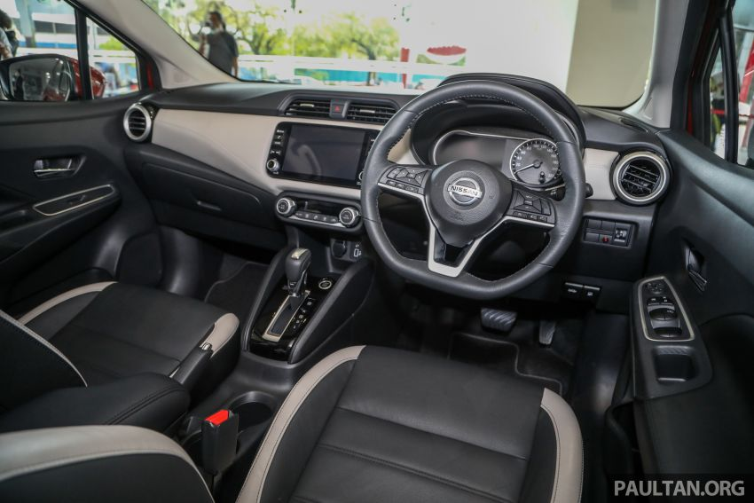 2020 Nissan Almera Turbo in Malaysia – 1.0 litre turbo CVT, AEB on all three variants, from RM8xk to RM9xk Image #1171912