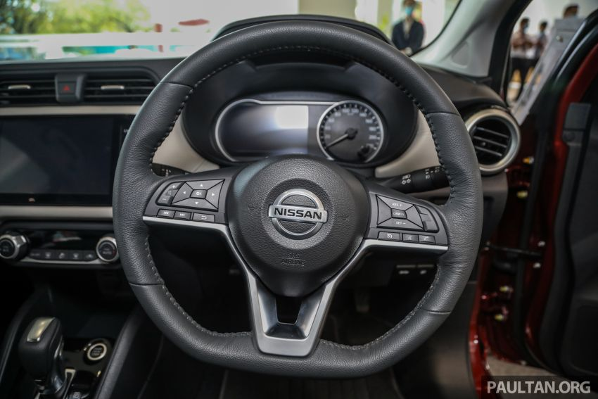 Nissan Almera 2020 di M'sia — perincian lengkap spesifikasi tiga varian, 1.0 liter turbo/CVT, dari RM8Xk Image #1171433