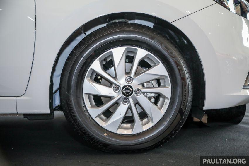 Nissan Almera 2020 di M'sia — perincian lengkap spesifikasi tiga varian, 1.0 liter turbo/CVT, dari RM8Xk Image #1171548