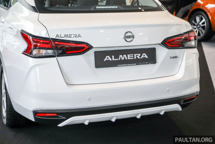 2020 Nissan Almera Turbo in Malaysia – 1.0 litre turbo CVT, AEB on all three variants, from RM8xk to RM9xk Image #1171718