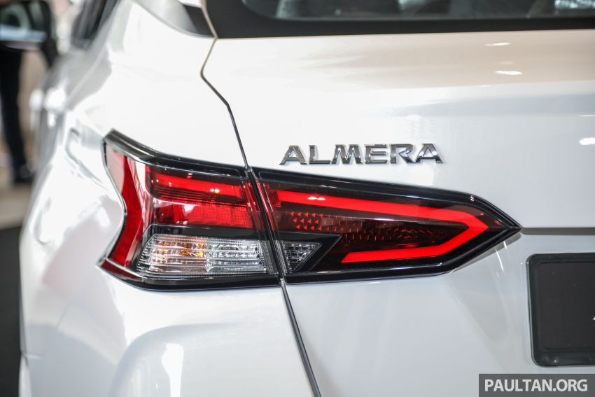 Nissan Almera 2020 di M'sia — perincian lengkap spesifikasi tiga varian, 1.0 liter turbo/CVT, dari RM8Xk Image #1171552