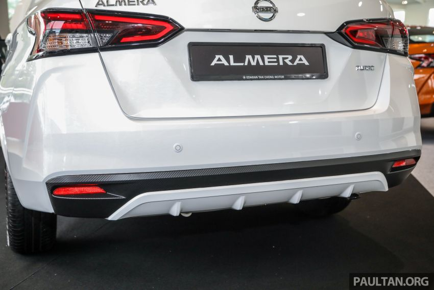 2020 Nissan Almera Turbo in Malaysia – 1.0 litre turbo CVT, AEB on all three variants, from RM8xk to RM9xk Image #1171678