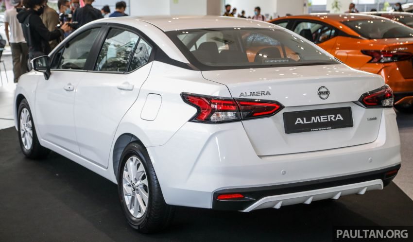 2020 Nissan Almera Turbo in Malaysia – 1.0 litre turbo CVT, AEB on all three variants, from RM8xk to RM9xk Image #1171705