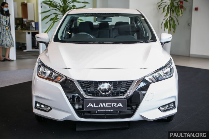 Nissan Almera 2020 di M'sia — perincian lengkap spesifikasi tiga varian, 1.0 liter turbo/CVT, dari RM8Xk Image #1171541