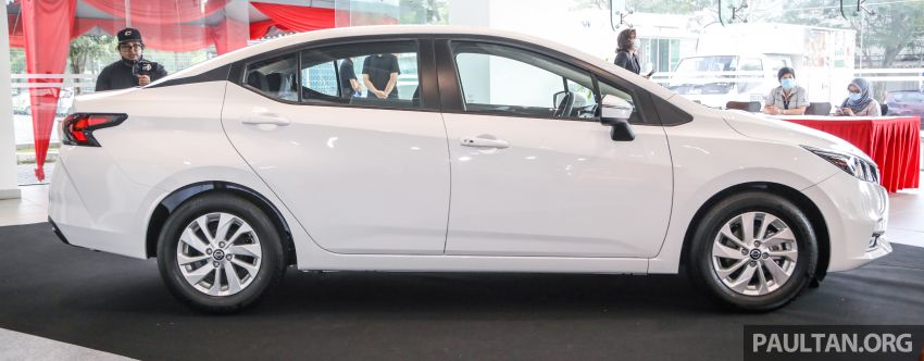 Nissan Almera 2020 di M'sia — perincian lengkap spesifikasi tiga varian, 1.0 liter turbo/CVT, dari RM8Xk Image #1171543