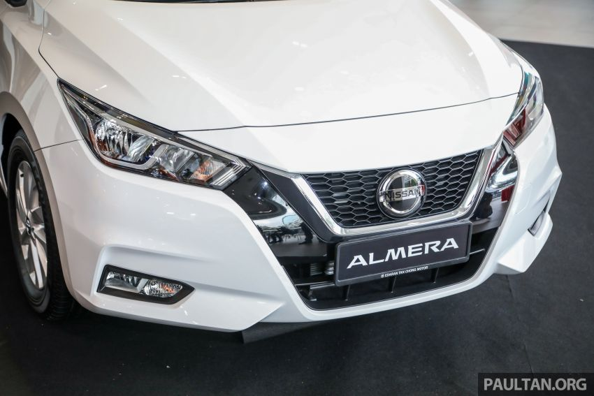 2020 Nissan Almera Turbo in Malaysia – 1.0 litre turbo CVT, AEB on all three variants, from RM8xk to RM9xk Image #1171711