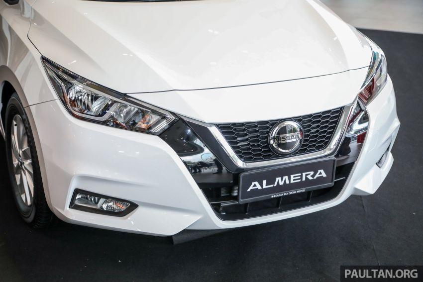 Nissan Almera 2020 di M'sia — perincian lengkap spesifikasi tiga varian, 1.0 liter turbo/CVT, dari RM8Xk Image #1171544