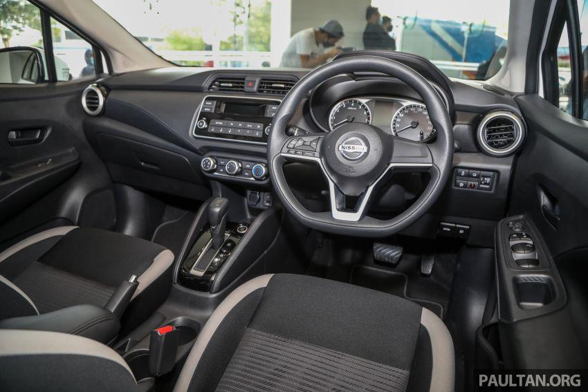 Nissan Almera 2020 di M'sia — perincian lengkap spesifikasi tiga varian, 1.0 liter turbo/CVT, dari RM8Xk Image #1171559