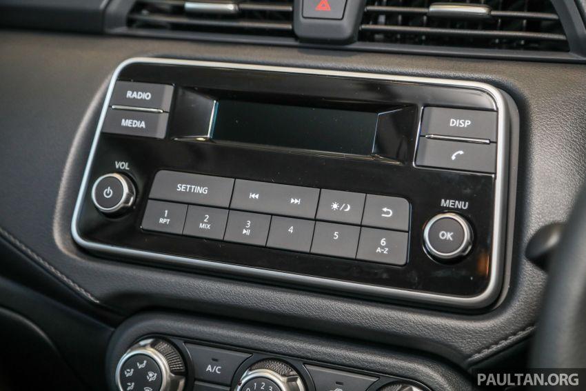 Nissan Almera 2020 di M'sia — perincian lengkap spesifikasi tiga varian, 1.0 liter turbo/CVT, dari RM8Xk Image #1171565
