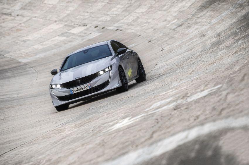 Peugeot 508 PSE sedan, wagon unveiled – 360 hp/520 Nm dual-motor PHEV; 2.03 L/100 km, 0-100 km/h 5.2s Image #1183176