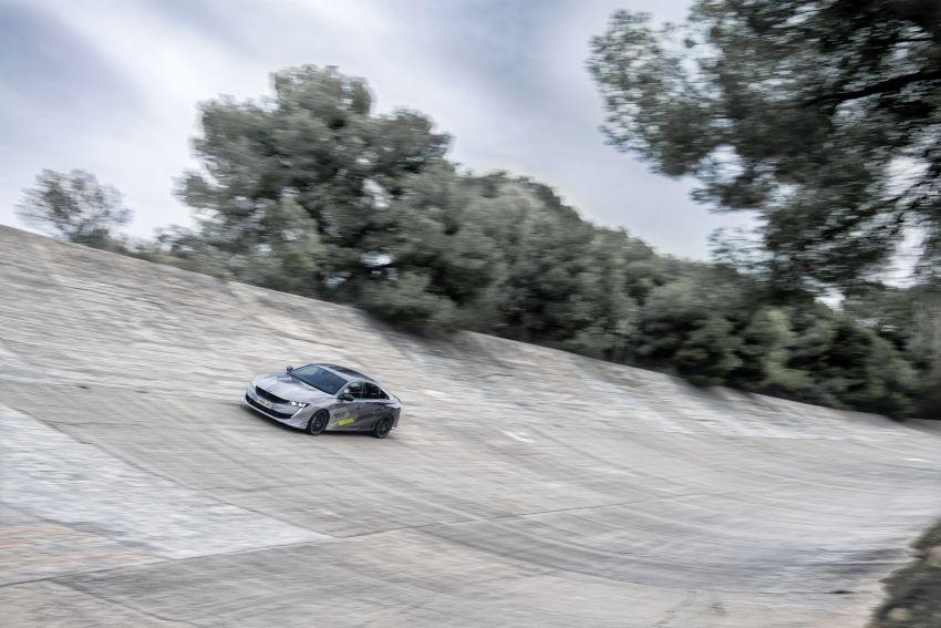 Peugeot 508 PSE sedan, wagon unveiled – 360 hp/520 Nm dual-motor PHEV; 2.03 L/100 km, 0-100 km/h 5.2s Image #1183177
