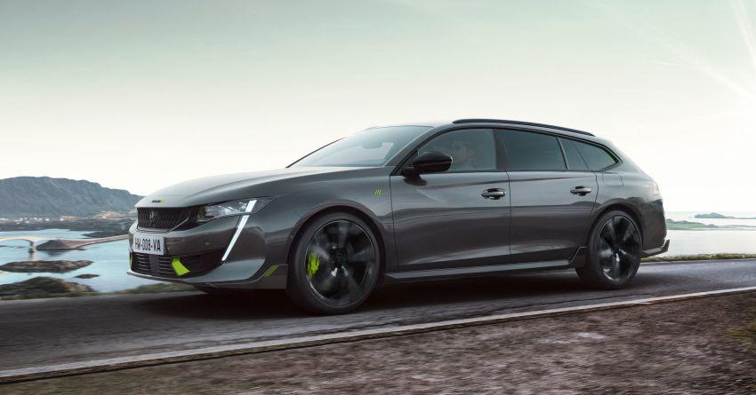 Peugeot 508 PSE sedan, wagon unveiled – 360 hp/520 Nm dual-motor PHEV; 2.03 L/100 km, 0-100 km/h 5.2s Image #1183181