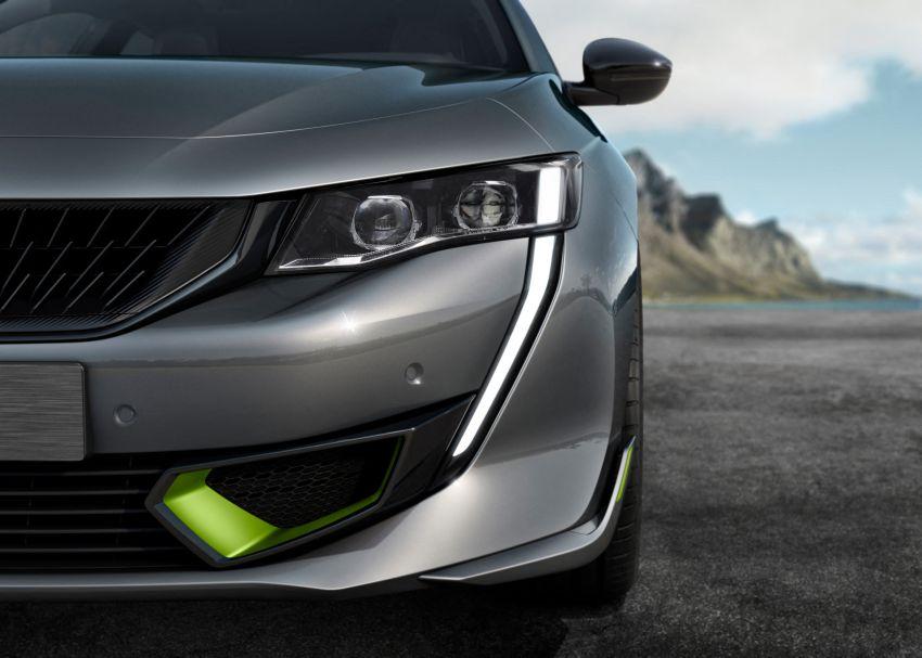 Peugeot 508 PSE sedan, wagon unveiled – 360 hp/520 Nm dual-motor PHEV; 2.03 L/100 km, 0-100 km/h 5.2s Image #1183184