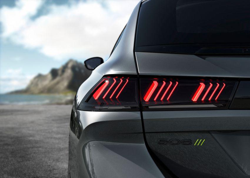 Peugeot 508 PSE sedan, wagon unveiled – 360 hp/520 Nm dual-motor PHEV; 2.03 L/100 km, 0-100 km/h 5.2s Image #1183186