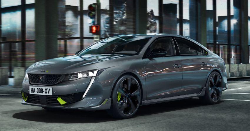 Peugeot 508 PSE sedan, wagon unveiled – 360 hp/520 Nm dual-motor PHEV; 2.03 L/100 km, 0-100 km/h 5.2s Image #1183188