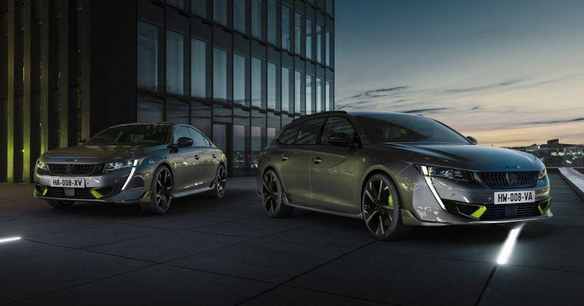 Peugeot 508 PSE sedan, wagon unveiled – 360 hp/520 Nm dual-motor PHEV; 2.03 L/100 km, 0-100 km/h 5.2s Image #1183189