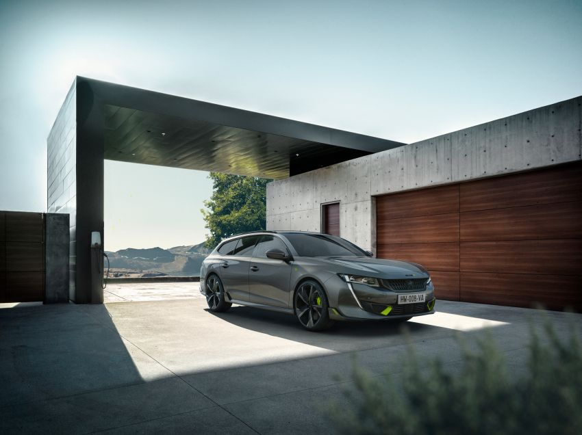 Peugeot 508 PSE sedan, wagon unveiled – 360 hp/520 Nm dual-motor PHEV; 2.03 L/100 km, 0-100 km/h 5.2s Image #1183192