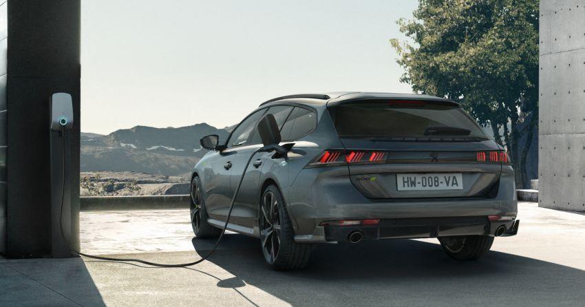 Peugeot 508 PSE sedan, wagon unveiled – 360 hp/520 Nm dual-motor PHEV; 2.03 L/100 km, 0-100 km/h 5.2s Image #1183195