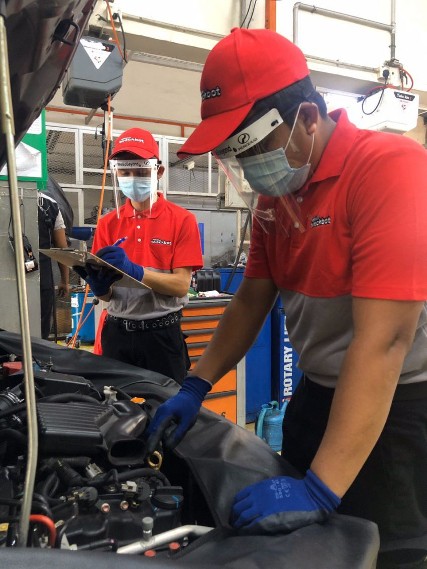 Perodua Tweckbot is back, now with new normal SOPs Image #1175097