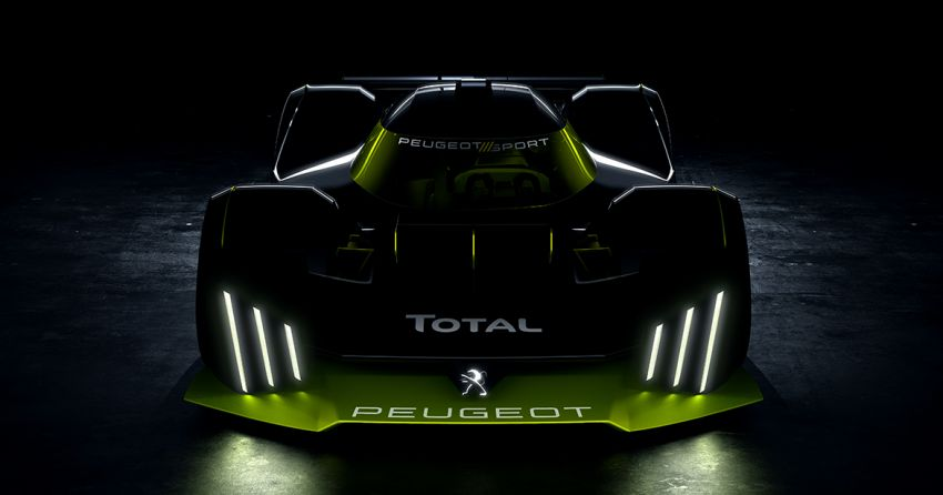 Peugeot Le Mans Hypercar hybrid race car teased Image #1179464