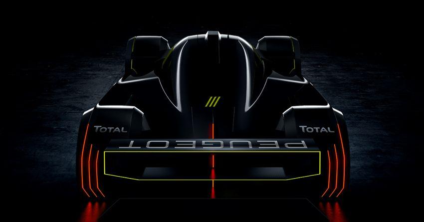 Peugeot Le Mans Hypercar hybrid race car teased Image #1179463