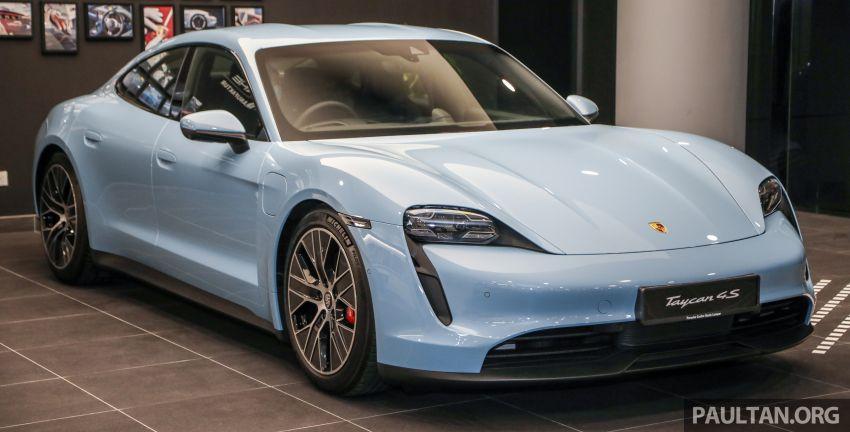 Porsche Taycan tiba di Malaysia – tiga varian, harga RM725k – RM1.2 juta, jarak gerak hingga 464 km Image #1178448