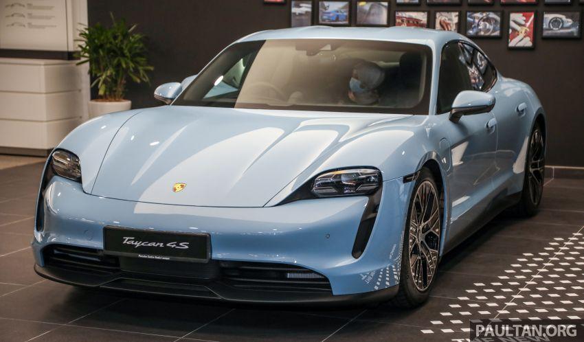Porsche Taycan tiba di Malaysia – tiga varian, harga RM725k – RM1.2 juta, jarak gerak hingga 464 km Image #1178449