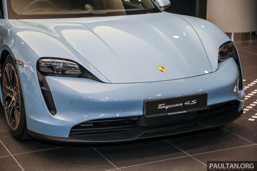 Porsche Taycan tiba di Malaysia – tiga varian, harga RM725k – RM1.2 juta, jarak gerak hingga 464 km Image #1178451