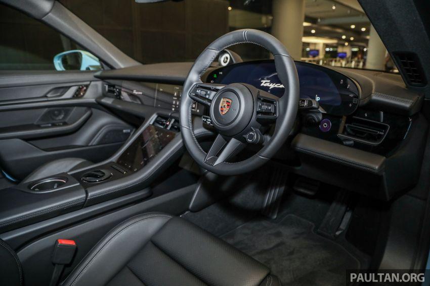 Porsche Taycan tiba di Malaysia – tiga varian, harga RM725k – RM1.2 juta, jarak gerak hingga 464 km Image #1178453