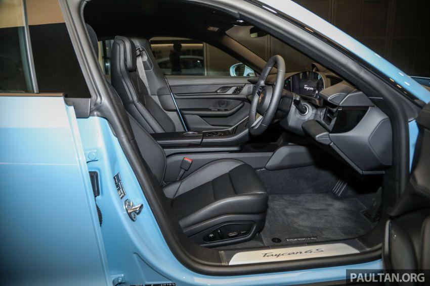 Porsche Taycan tiba di Malaysia – tiga varian, harga RM725k – RM1.2 juta, jarak gerak hingga 464 km Image #1178457
