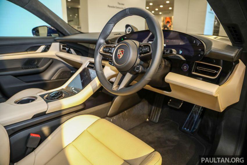 Porsche Taycan tiba di Malaysia – tiga varian, harga RM725k – RM1.2 juta, jarak gerak hingga 464 km Image #1178497