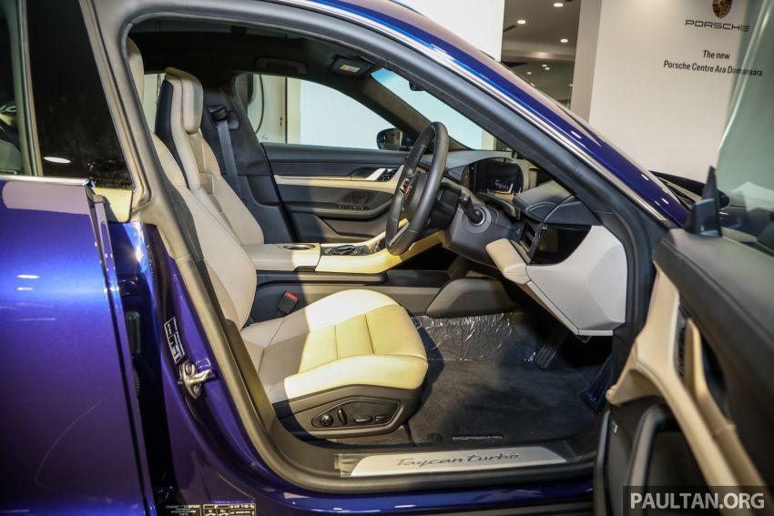 Porsche Taycan tiba di Malaysia – tiga varian, harga RM725k – RM1.2 juta, jarak gerak hingga 464 km Image #1178504